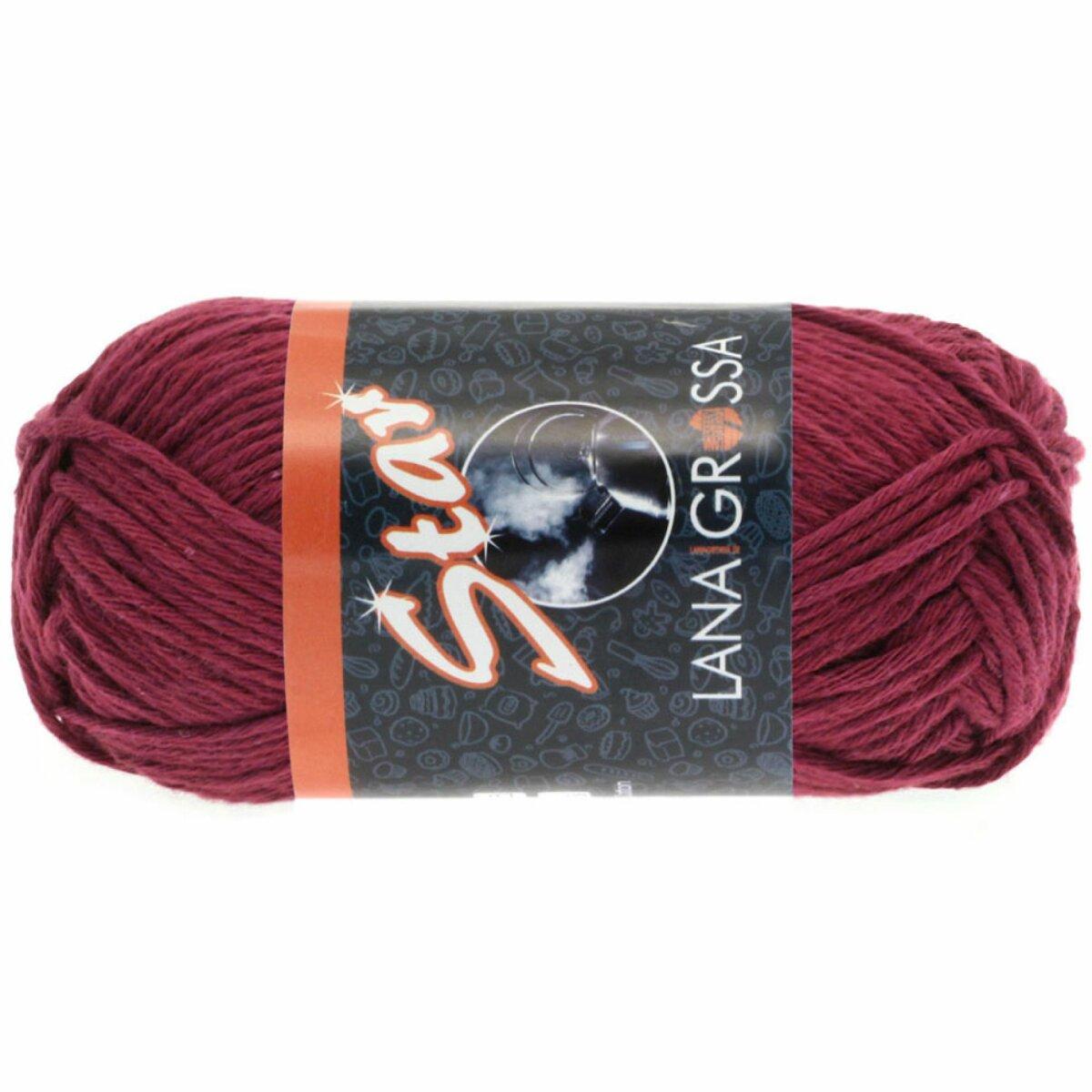 Fb 57 weinrot 50 g Lana Grossa Star Wolle Kreativ