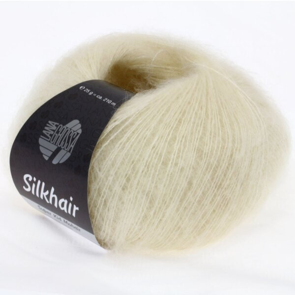 Silkhair Fb. 52 rohweiß