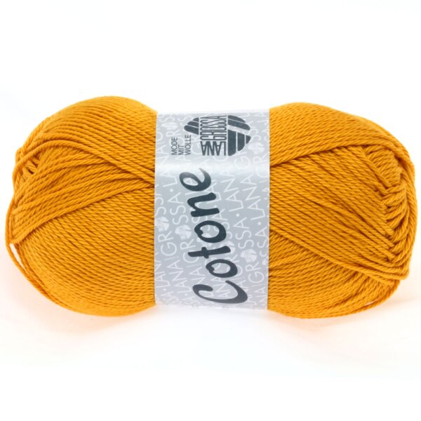 Lana Grossa - Cotone 0038 goldgelb
