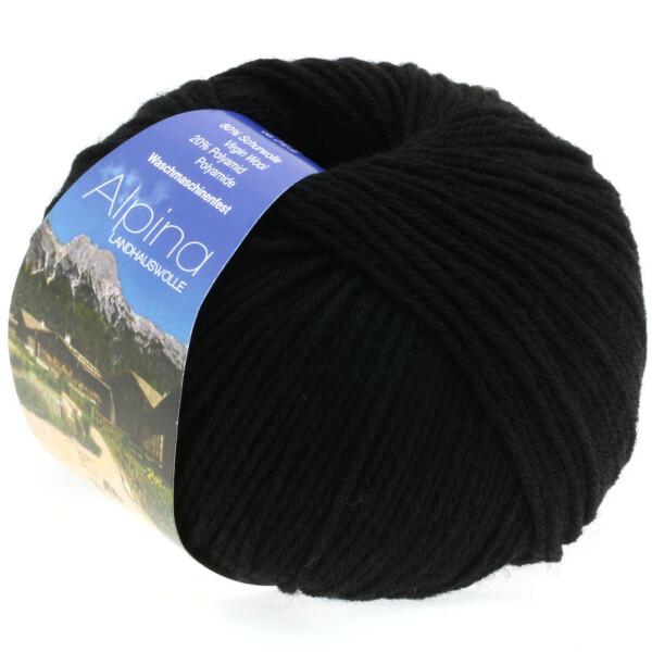Alpina Landhauswolle Fb. 9 schwarz