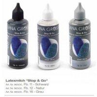 Lana Grossa - STOP & GO Latexmilch - Fb. 11 schwarz...
