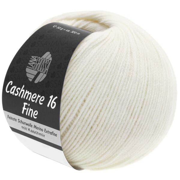Cashmere 16 Fine Fb. 9 rohweiß