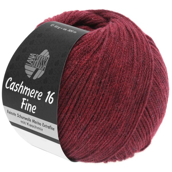 Cashmere 16 Fine Fb. 11 dunkelrot