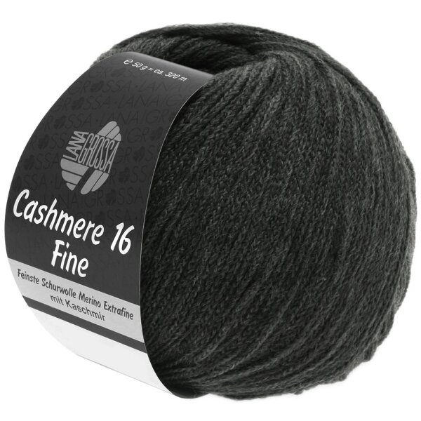 Cashmere 16 Fine Fb. 17 anthrazit