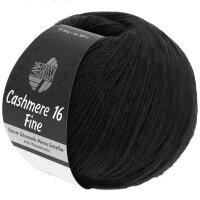 Cashmere 16 Fine Fb. 18 schwarz