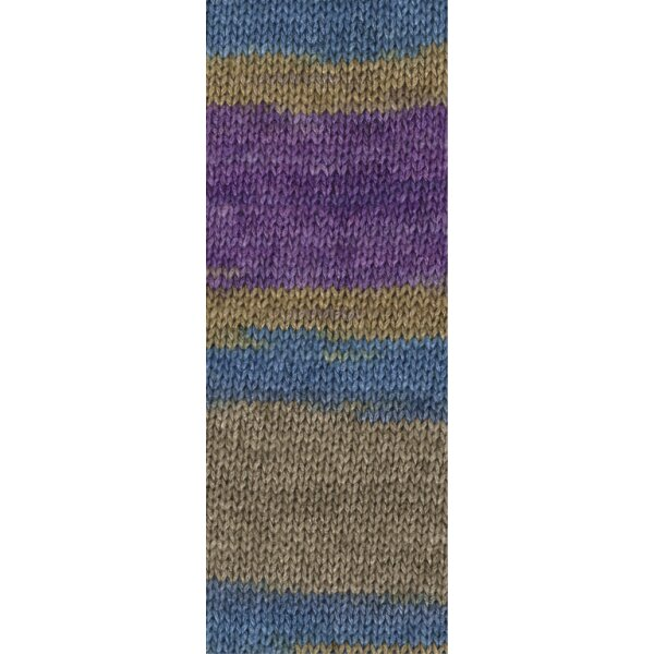 Linarte Color Fb. 208 violett/petrol/khaki