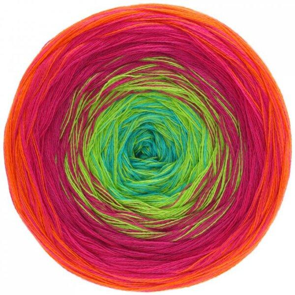 Shades of Cotton Fb. 101 orange/rot/zyklam/gelbgrün/türkis