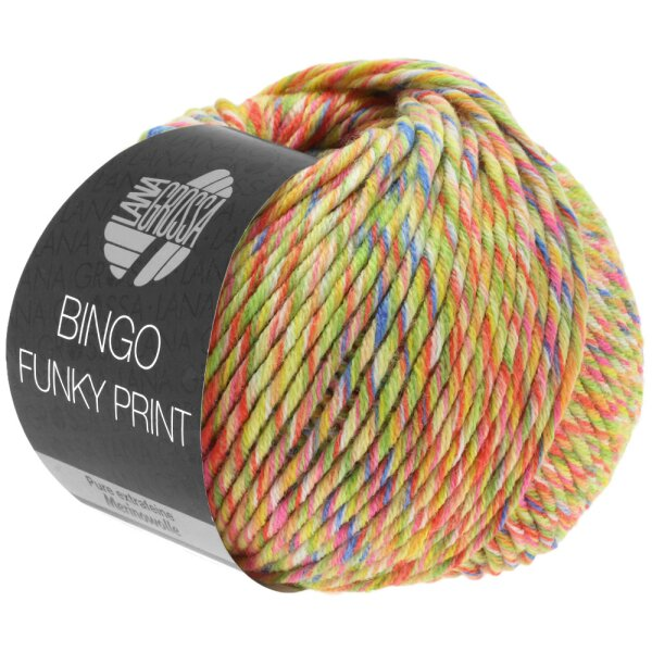 Bingo Funky Fb. 405 gelb/grün/rot meliert
