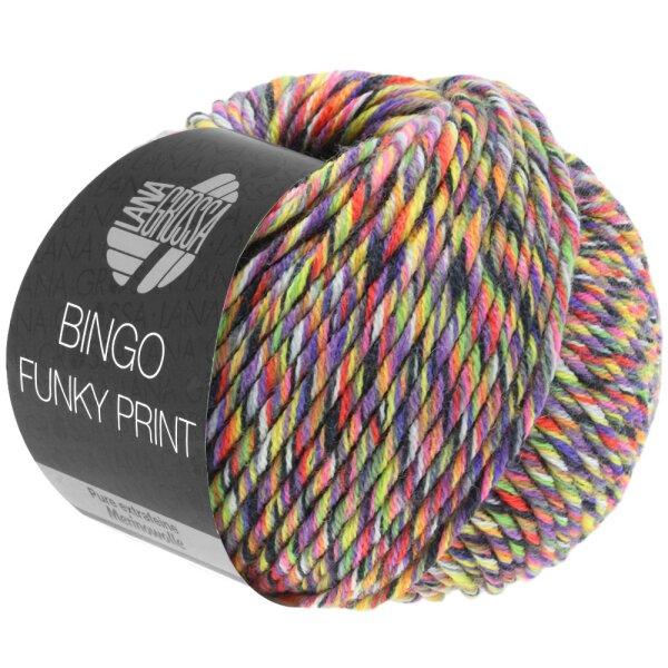 Bingo Funky Fb. 402 lila/gelb/grün meliert