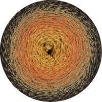 Twisted Merino Cotton Fb. 502 gelb/orange/beige/schwarzbraun