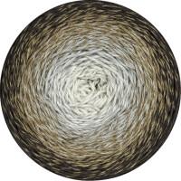 Twisted Merino Cotton Fb. 506 ecru/hellgrau/khaki/mokka