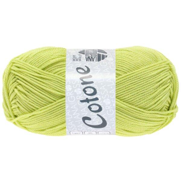 lana Grossa-Cotone-FB Lana creativo 77 zitrusgelb 50 G