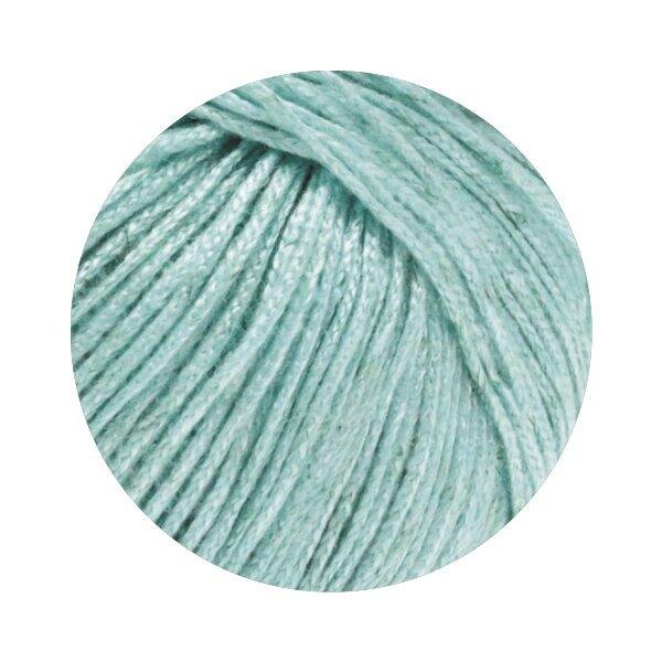 Lana Grossa 10 blau//graugrün//gelb//türkis 100g Wolle Kreativ Pappagallo Fb