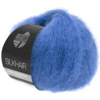 Silkhair Fb. 133 enzianblau