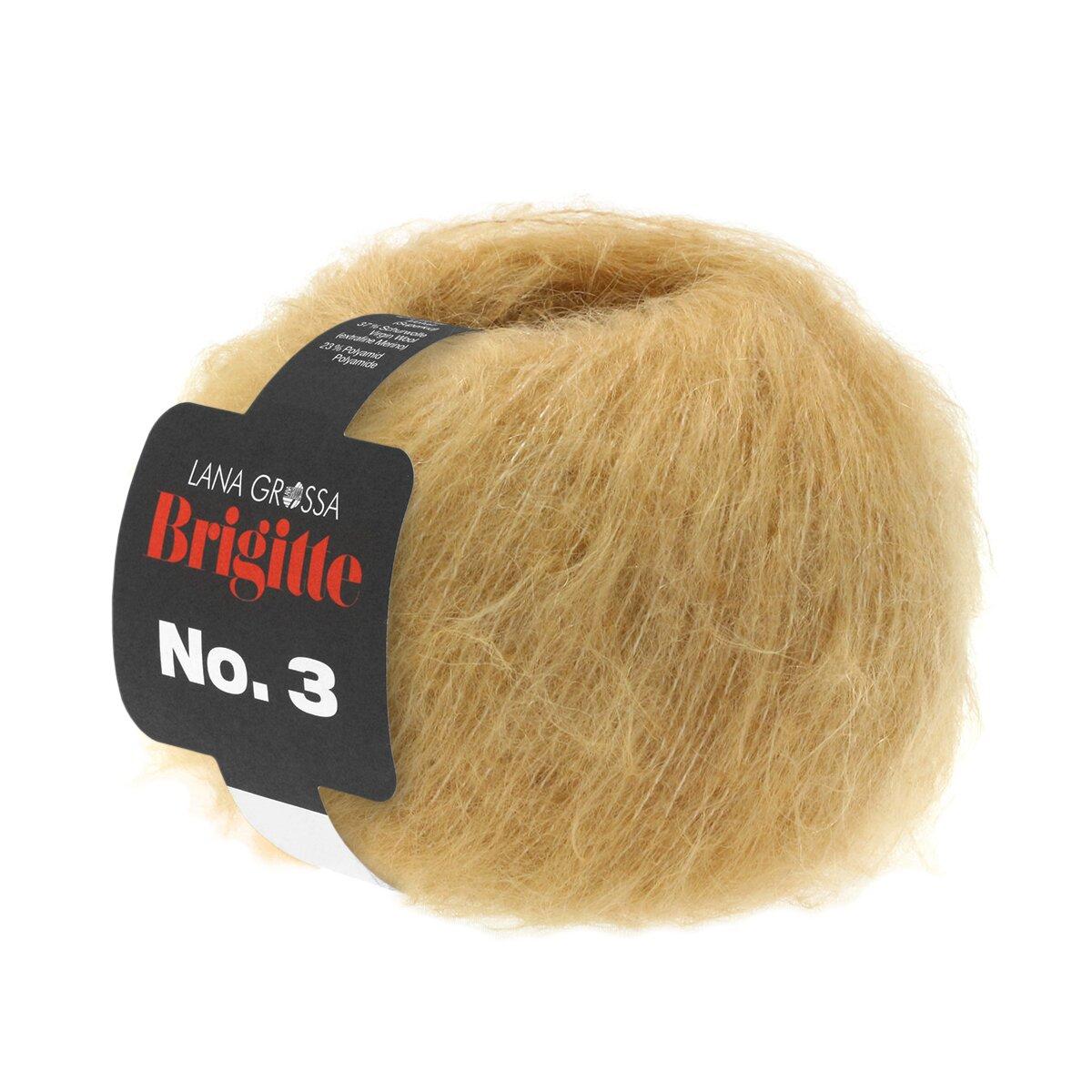 Wolle Kreativ 3 Fb 19 camel 25 g Lana Grossa Brigitte No