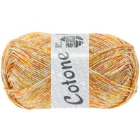 Lana Grossa - Cotone Spray - Fb. 459 gelb/orange 50 g