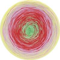 Shades of Cotton Fb. 115 gelb/rosa/rot/hellgrün