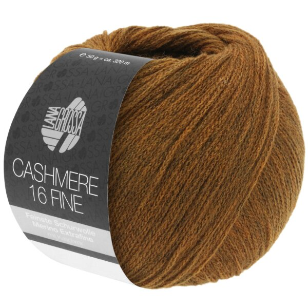 16 dunkelgrau 50 g Lana Grossa Wolle Kreativ Cashmere 16 Fine Fb