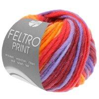 Feltro Print Fb. 388 llachs/himbeer/lila/orange/bordeaux