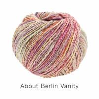 About Berlin Vanity Fb.1 rosa/flieder/graugrün bunt