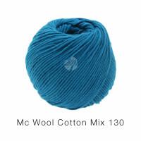 Mc Wool Cotton Mix 130 Fb. 167 petrolblau