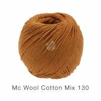 Mc Wool Cotton Mix 130 Fb. 176 zimtbraun