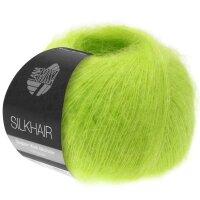 Silkhair Fb. 157 signalgrün
