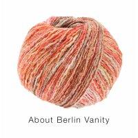 About Berlin Vanity Fb. 2 rot/orange/rost bunt