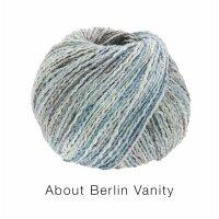 About Berlin Vanity Fb. 12  mauve/jeans/rauchblau/natur bunt