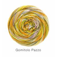 Gomitolo Pazzo Fb. 812 oliv/senfgelb/lila bunt