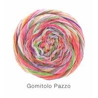 Gomitolo Pazzo Fb. 816 pink/gelb/weiß/eisblau bunt