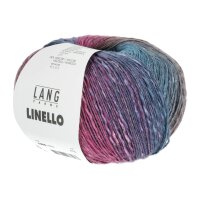Lang Yarns - Linello 0010 blau/pink
