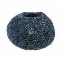 Ecopuno Tweed Fb. 301 dunkelblau meliert