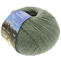 Alpina Landhauswolle - Fb. 55 grüngrau