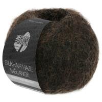 Silkhair Haze Melange - Fb. 1308 schwarzbraun meliert