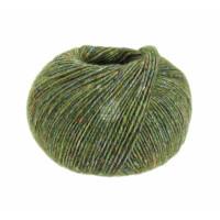 Ecopuno Tweed Fb. 305 olivgrün meliert