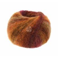 Twin - Fb. 110 weinrot/orange/rost/aubergine/braun