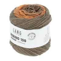 Lang Yarns - Merino 150 degrade - Fb. 6 orange/braun/grau