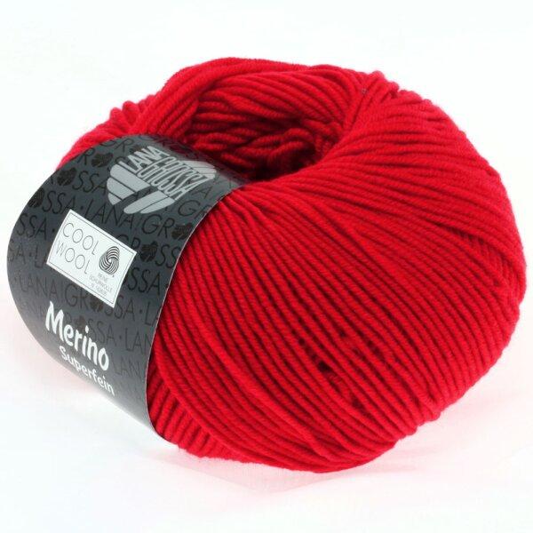 Cool Wool Fb. 417 leuchtendrot