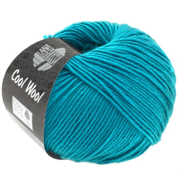 Cool Wool Fb. 2036 azurblau