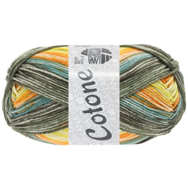 0258 gelb/orange/khaki/graugrün