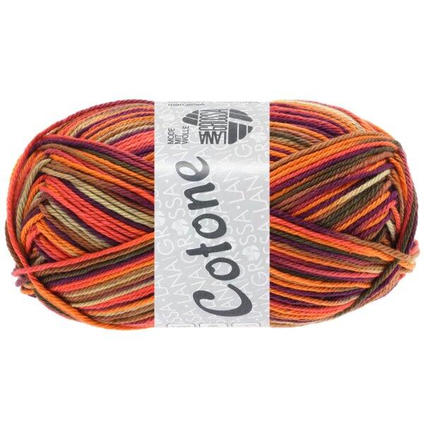 0334 orange/beige/terracotta/dunkelviolett/braun