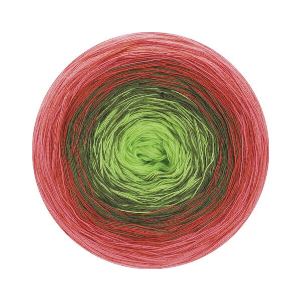 0120 fuchsia/pink/rotorange/grau-/hellgrün