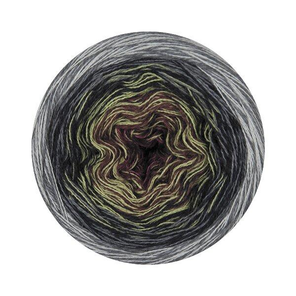 0605 grau/natur/weinrot/lila/olivgrün