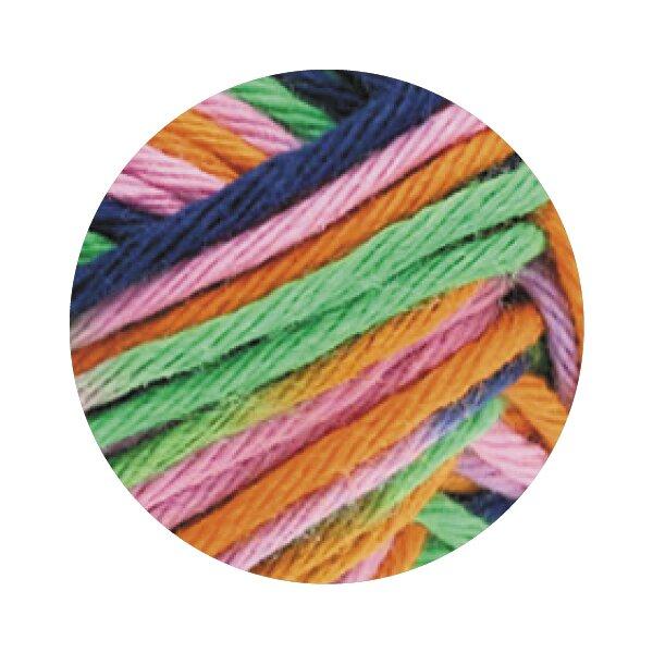 0328 grün/orange/dunkelblau/lila